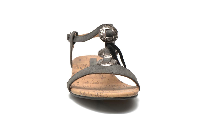 Sandales et nu-pieds Esprit Aely Ter Sandal Noir vue portées chaussures