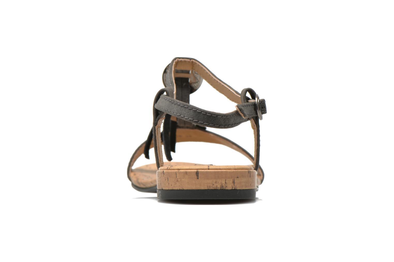 Sandales et nu-pieds Esprit Aely Ter Sandal Noir vue droite