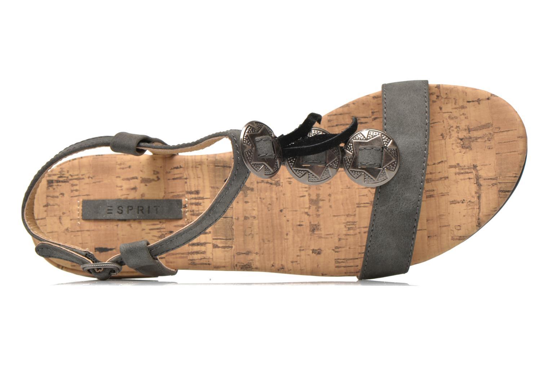 Sandales et nu-pieds Esprit Aely Ter Sandal Noir vue gauche