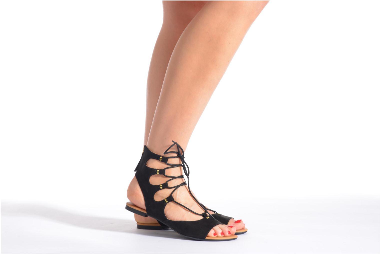 Sandalen Esprit Pepe Sandal 2 Zwart onder