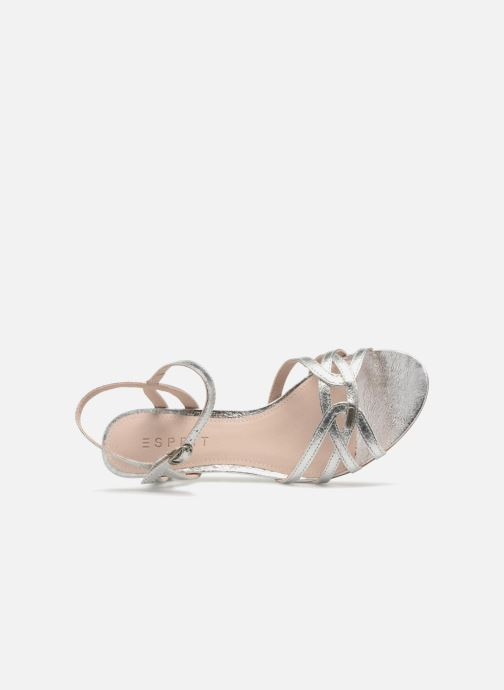 Sandalen Esprit Birkin Sandal Zilver links