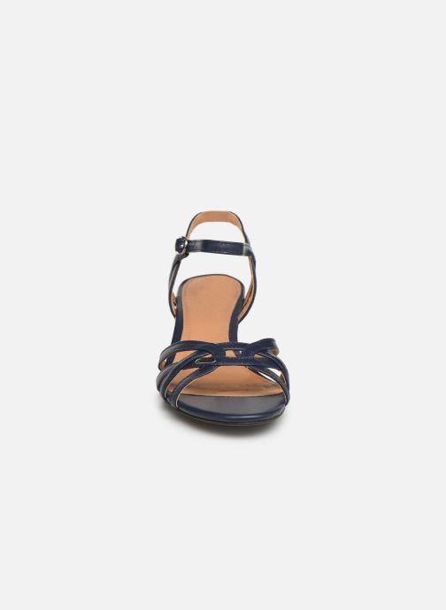 Sandales et nu-pieds Esprit Birkin Sandal Bleu vue portées chaussures