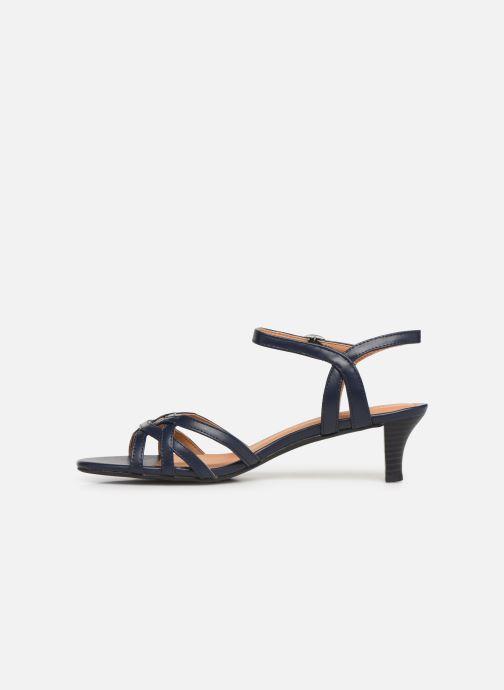 Sandales et nu-pieds Esprit Birkin Sandal Bleu vue face