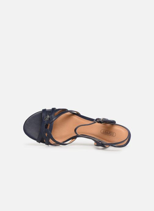 Sandales et nu-pieds Esprit Birkin Sandal Bleu vue gauche