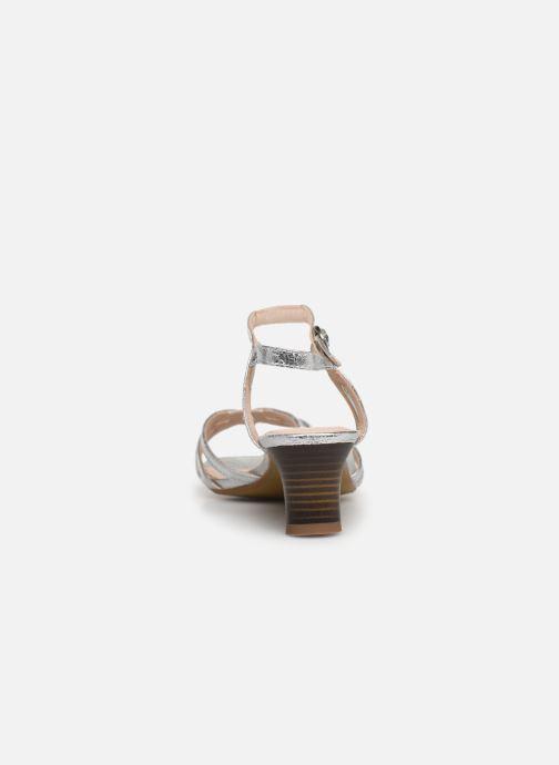 Sandales et nu-pieds Esprit Birkin Sandal Argent vue droite