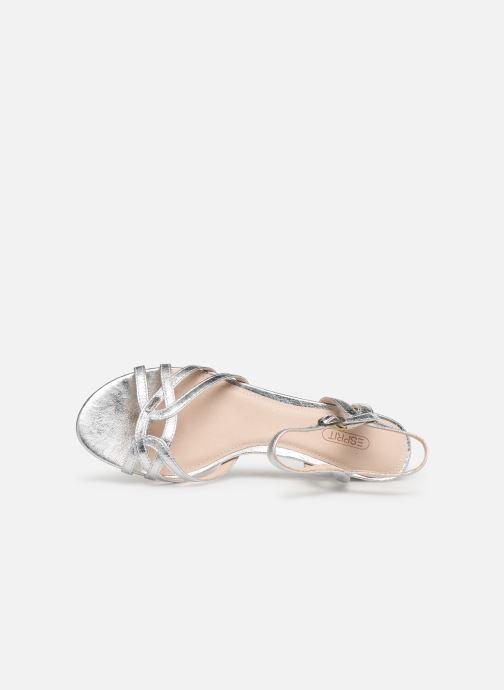 Sandales et nu-pieds Esprit Birkin Sandal Argent vue gauche