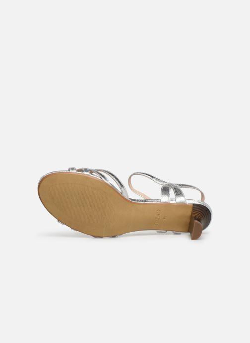 Sandales et nu-pieds Esprit Birkin Sandal Argent vue haut