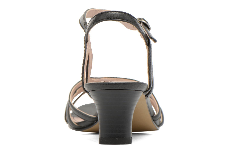 Sandales et nu-pieds Esprit Birkin Sandal Noir vue droite