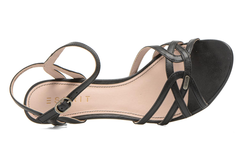 Sandales et nu-pieds Esprit Birkin Sandal Noir vue gauche
