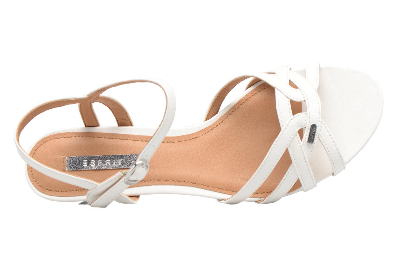 Sandali e scarpe aperte Esprit Birkin Sandal Bianco immagine sinistra