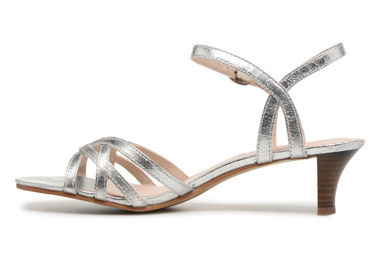 Sandalen Esprit Birkin Sandal silber ansicht von vorne