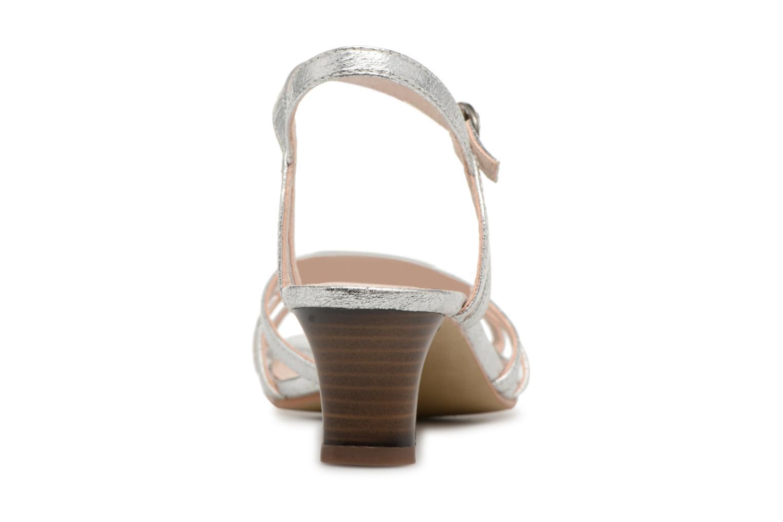 Sandalen Esprit Birkin Sandal silber ansicht von rechts
