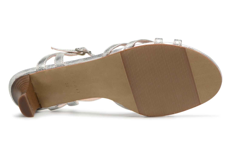 Sandalen Esprit Birkin Sandal silber ansicht von oben