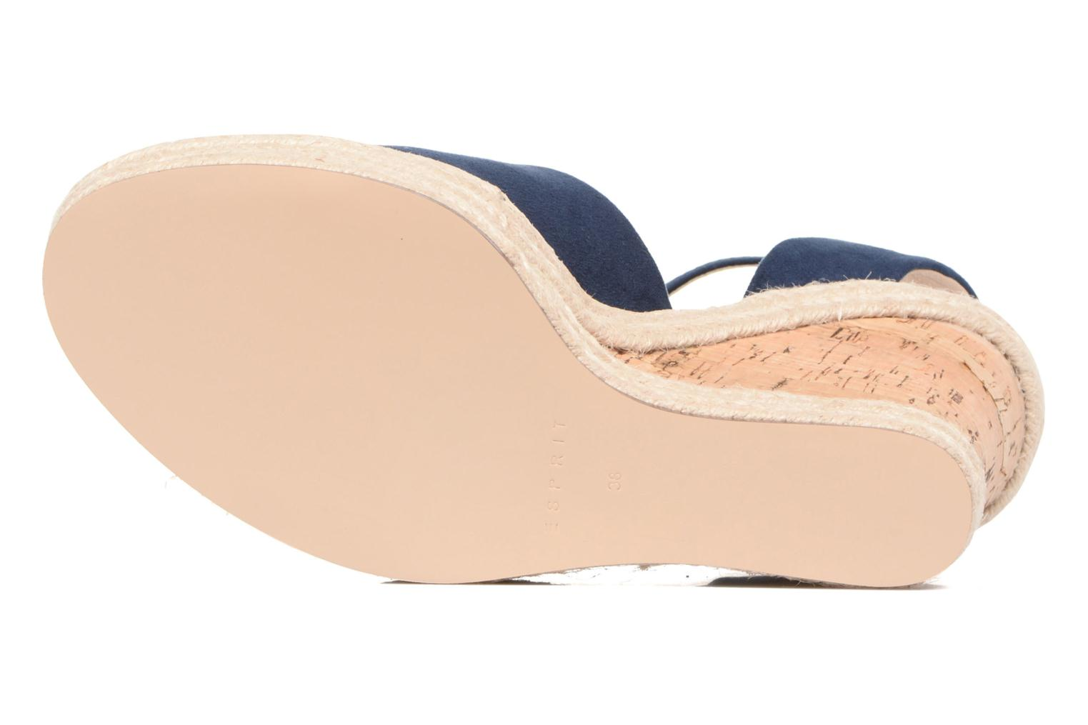 Sandals Esprit Twiggy Sandal Blue view from above