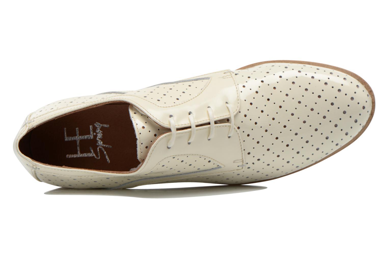 Scarpe con lacci HE Spring Bellem Bianco immagine sinistra