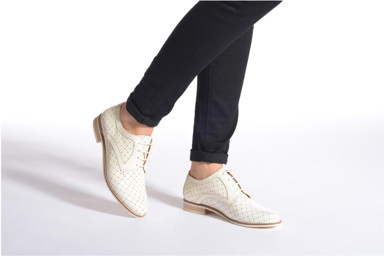 Zapatos con cordones HE Spring Bellem Azul vista de abajo