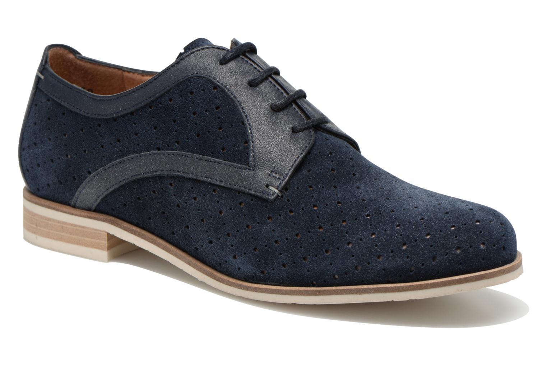 Zapatos con cordones HE Spring Bellem Azul vista de detalle / par