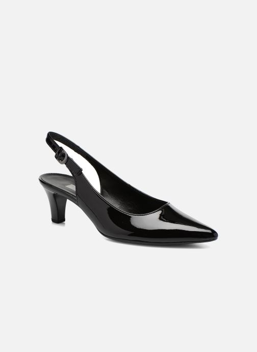 High heels Gabor Liro Black detailed view/ Pair view