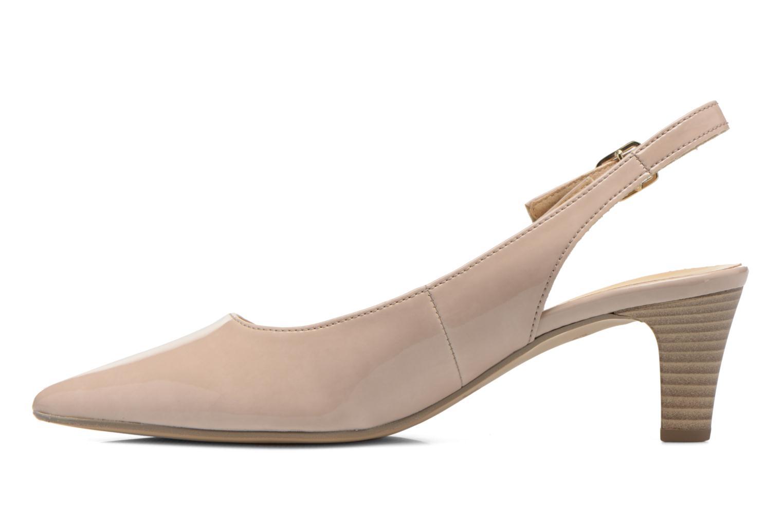 Zapatos de tacón Gabor Liro Beige vista de frente