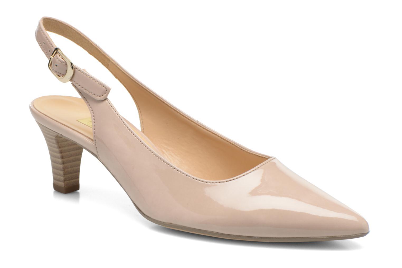 Zapatos de tacón Gabor Liro Beige vista de detalle / par
