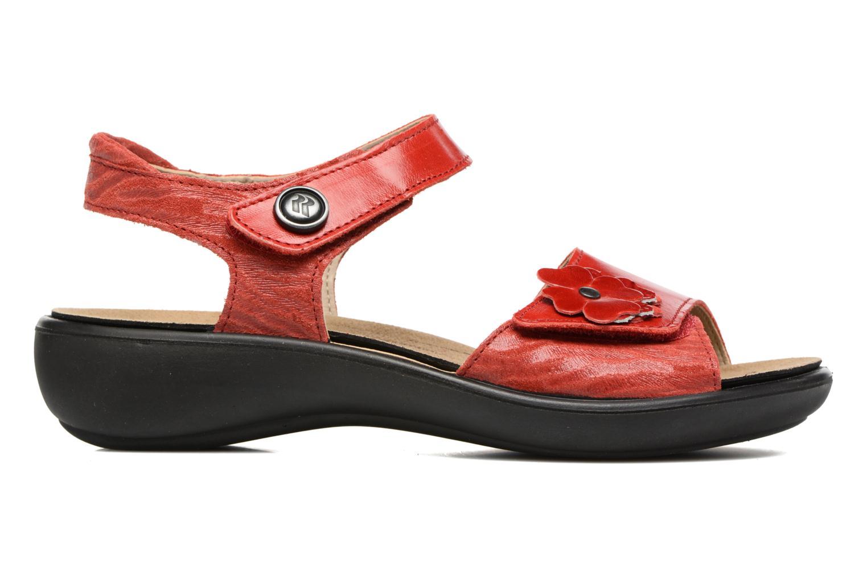 Sandales et nu-pieds Romika Ibiza 67 Rouge vue derrière