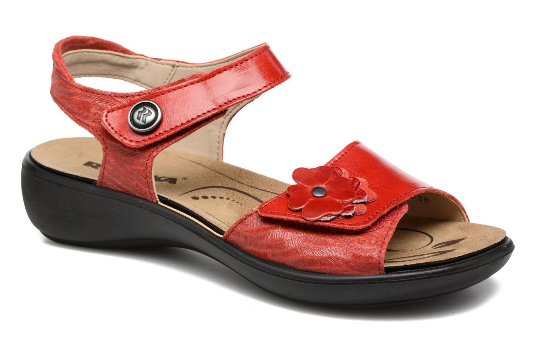 Sandales et nu-pieds Romika Ibiza 67 Rouge vue détail/paire