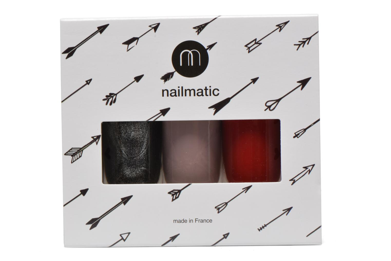 Beauty-Artikel Nailmatic Nagellack Set schwarz schuhe getragen
