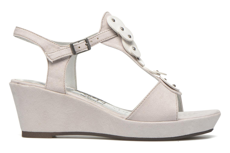 Sandales et nu-pieds Madison Estreme Blanc vue derrière