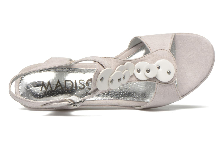 Sandales et nu-pieds Madison Estreme Blanc vue gauche