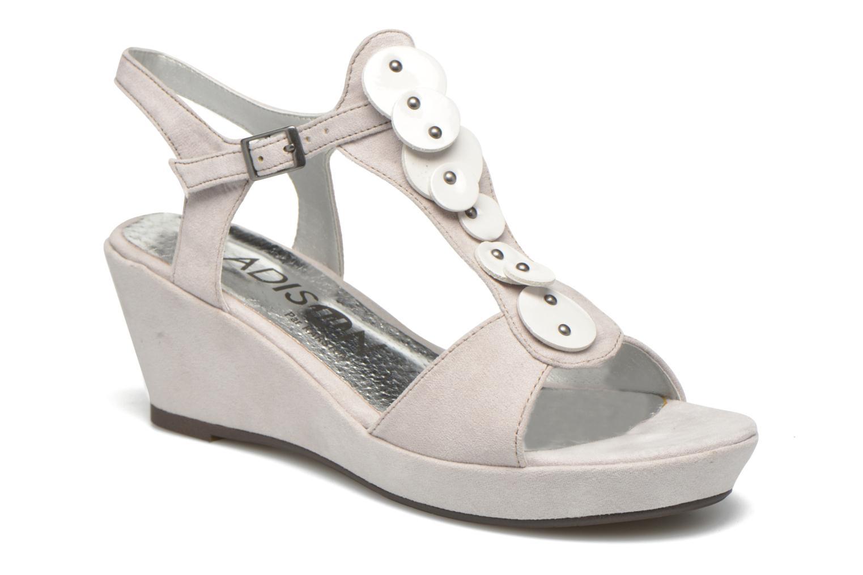 Sandales et nu-pieds Madison Estreme Blanc vue détail/paire