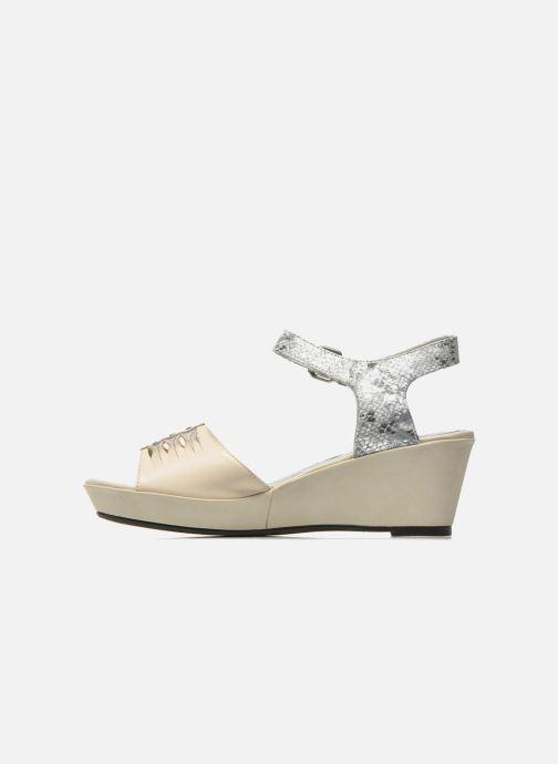 Sandali e scarpe aperte Madison Esclin Beige immagine frontale