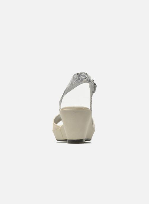Sandals Madison Esclin Beige view from the right
