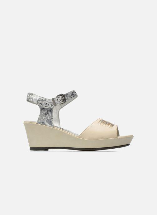 Sandali e scarpe aperte Madison Esclin Beige immagine posteriore