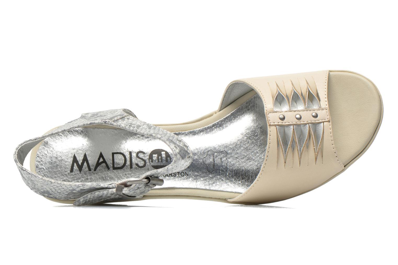 Sandales et nu-pieds Madison Esclin Beige vue gauche
