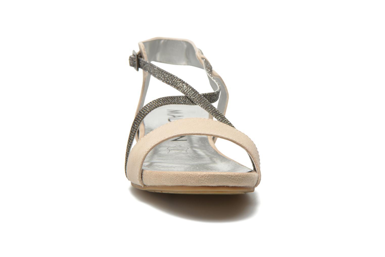 Sandales et nu-pieds Madison Emax Beige vue portées chaussures