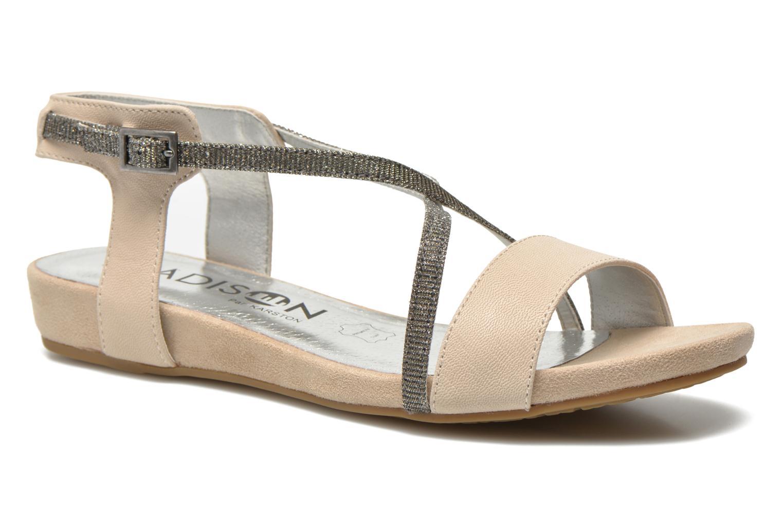 Sandales et nu-pieds Madison Emax Beige vue détail/paire