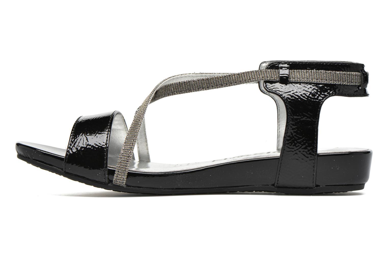 Sandales et nu-pieds Madison Emax Noir vue face