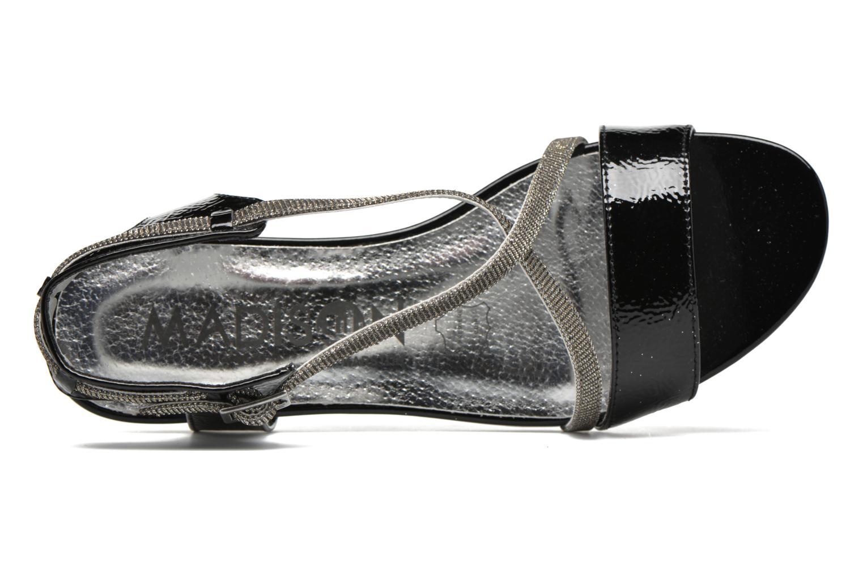 Sandales et nu-pieds Madison Emax Noir vue gauche
