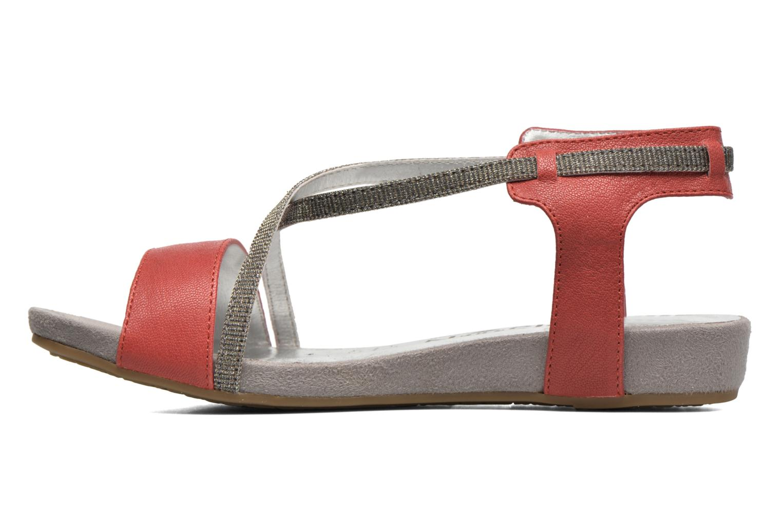 Sandals Madison Emax Red front view