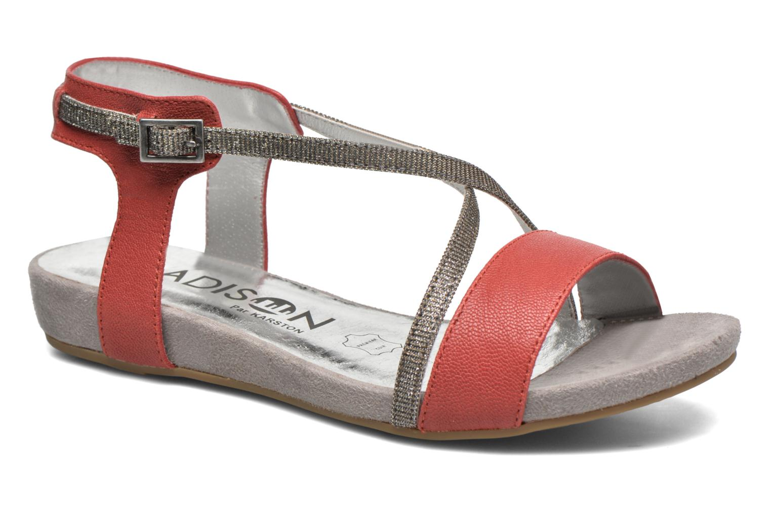 Sandals Madison Emax Red detailed view/ Pair view