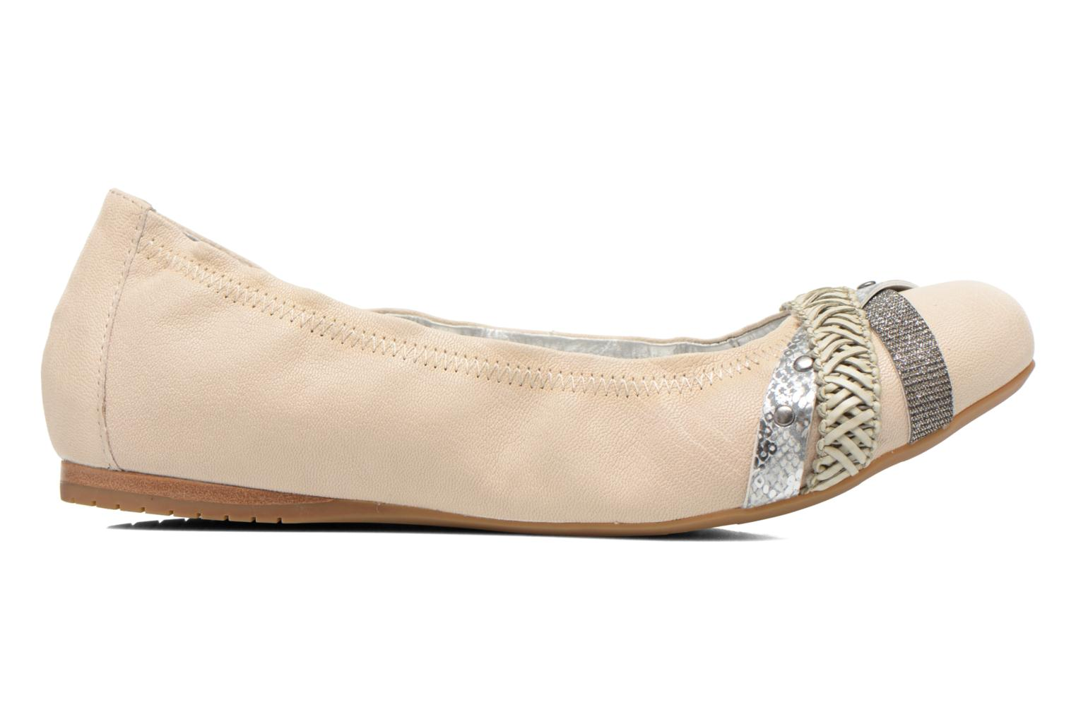 Ballet pumps Madison Clewou Beige back view