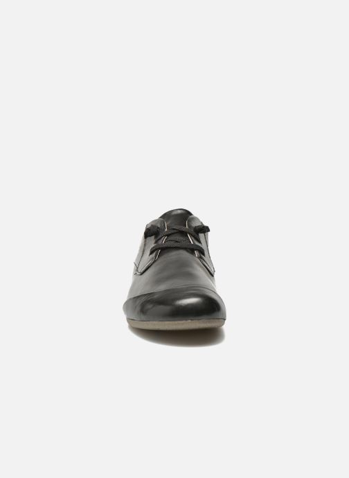 Zapatos con cordones Josef Seibel Fiona 01 Negro vista del modelo