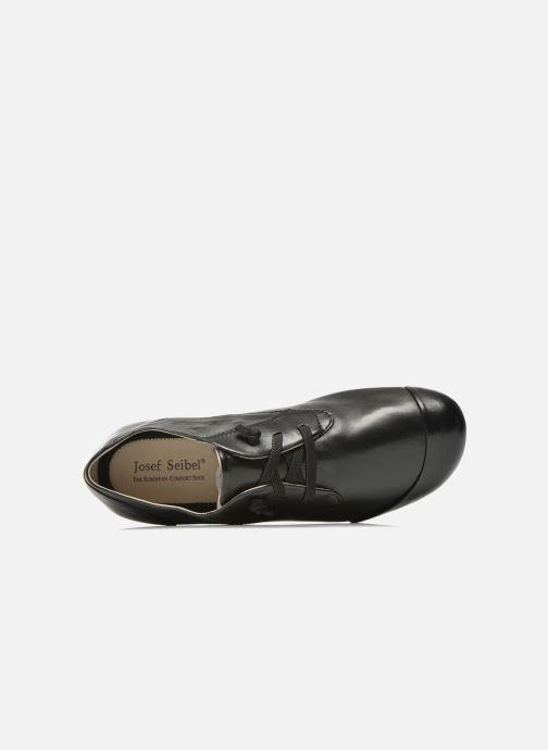 Zapatos con cordones Josef Seibel Fiona 01 Negro vista lateral izquierda