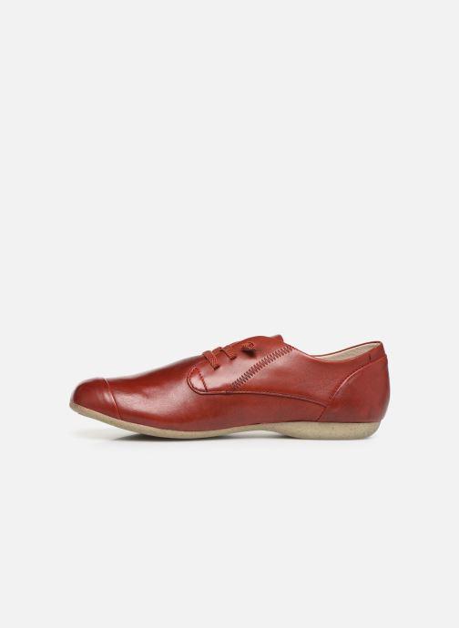 Zapatos con cordones Josef Seibel Fiona 01 Rojo vista de frente