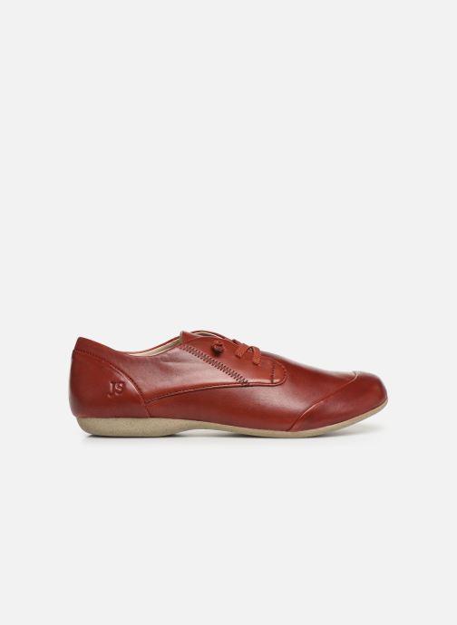 Zapatos con cordones Josef Seibel Fiona 01 Rojo vistra trasera