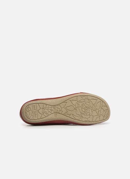 Zapatos con cordones Josef Seibel Fiona 01 Rojo vista de arriba