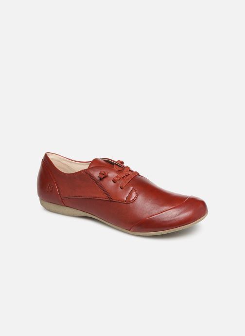 Zapatos con cordones Josef Seibel Fiona 01 Rojo vista de detalle / par