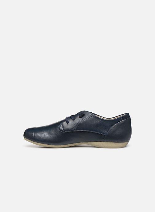 Chaussures à lacets Josef Seibel Fiona 01 Bleu vue face