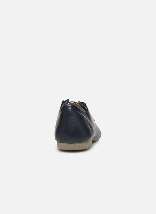 Chaussures à lacets Josef Seibel Fiona 01 Bleu vue droite