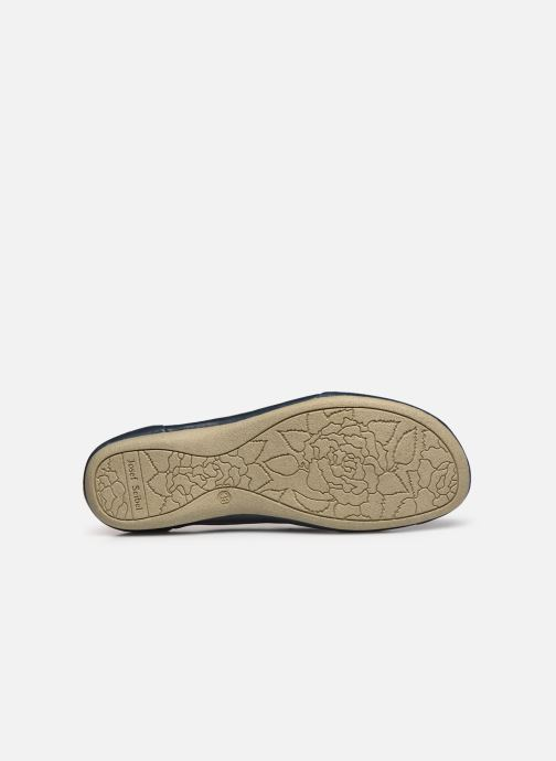 Chaussures à lacets Josef Seibel Fiona 01 Bleu vue haut